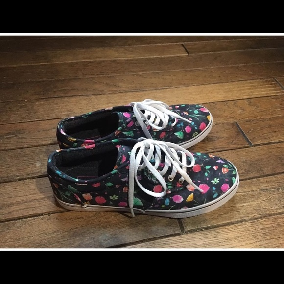 203cb9eaeca89 Vans Shoes | Womens Atwood Watercolor Floral Size 55 Nwob | Poshmark